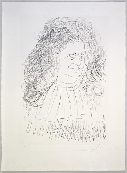 Далинизированный бестиарий Лафонтена, 1974