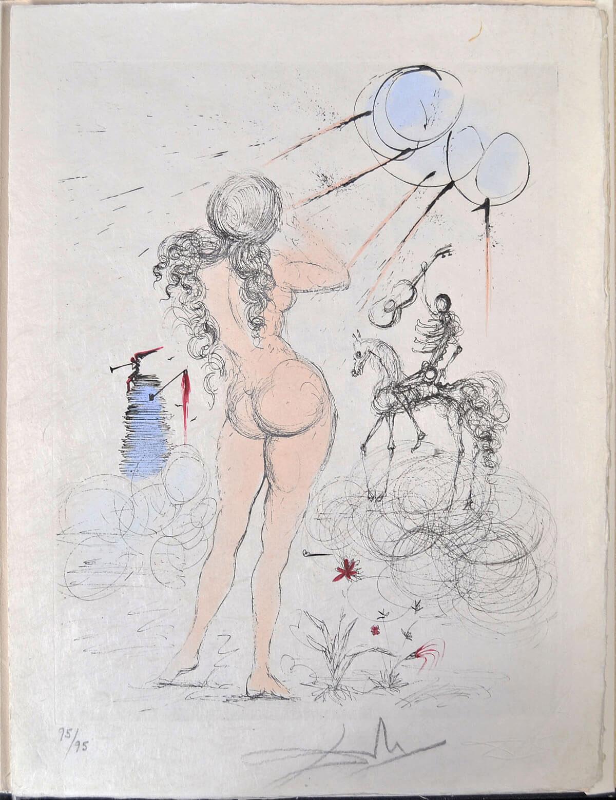 Тайные поэмы Аполлинера, цветная сюита, 1967